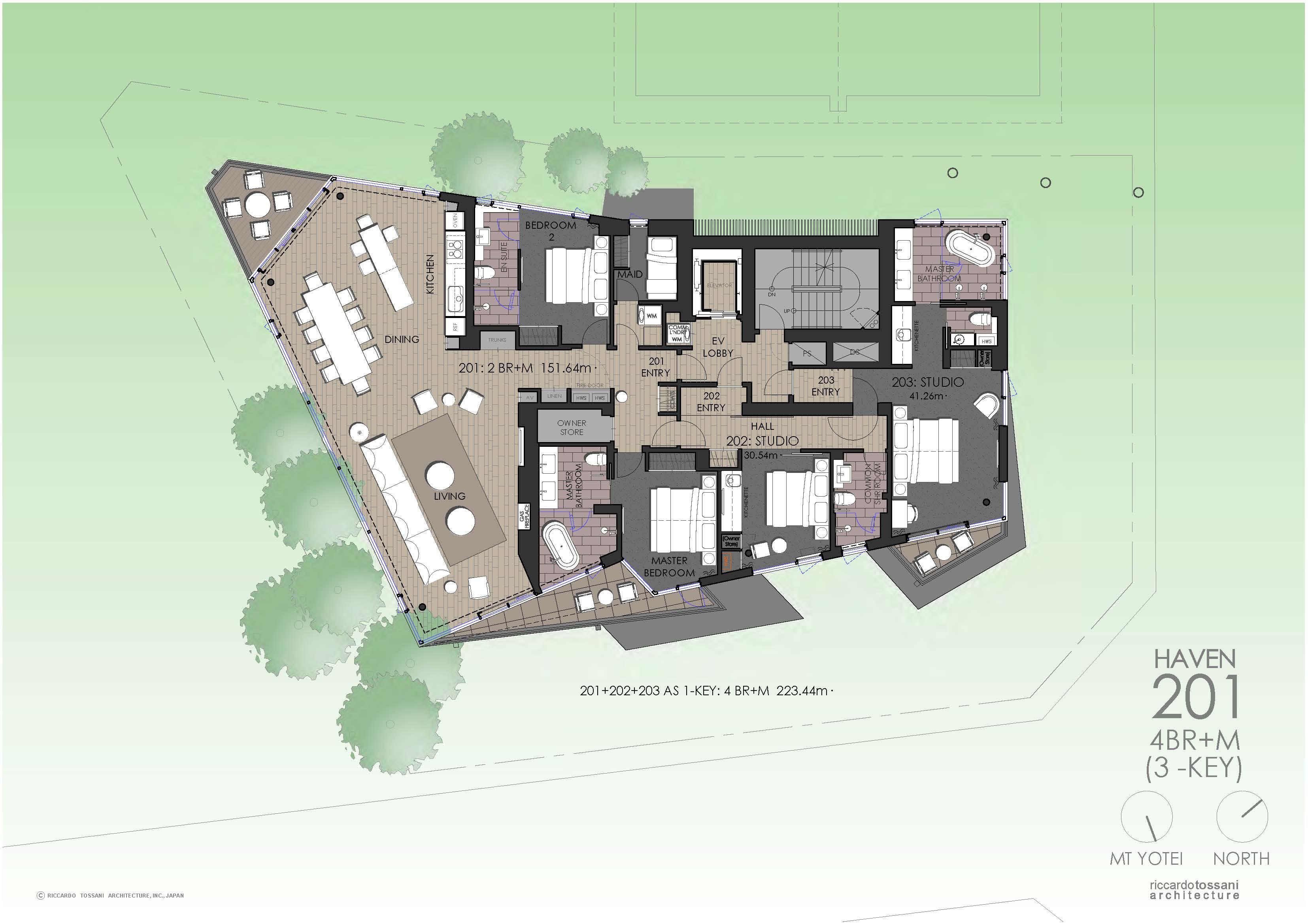 Floor Plans For Townhouses Niseko Haven 201 Floor Plan Niseko Realty Real Estate