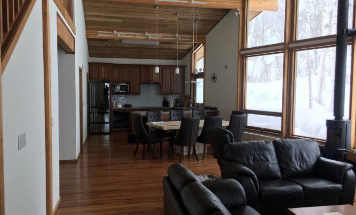 Niseko Realty Harmony House Real Estate Living Kitchen Niseko Property