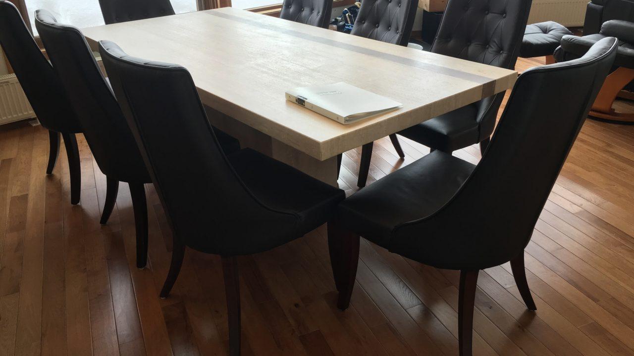 Niseko Realty Harmony House Real Estate Marble Dining Table Niseko Property