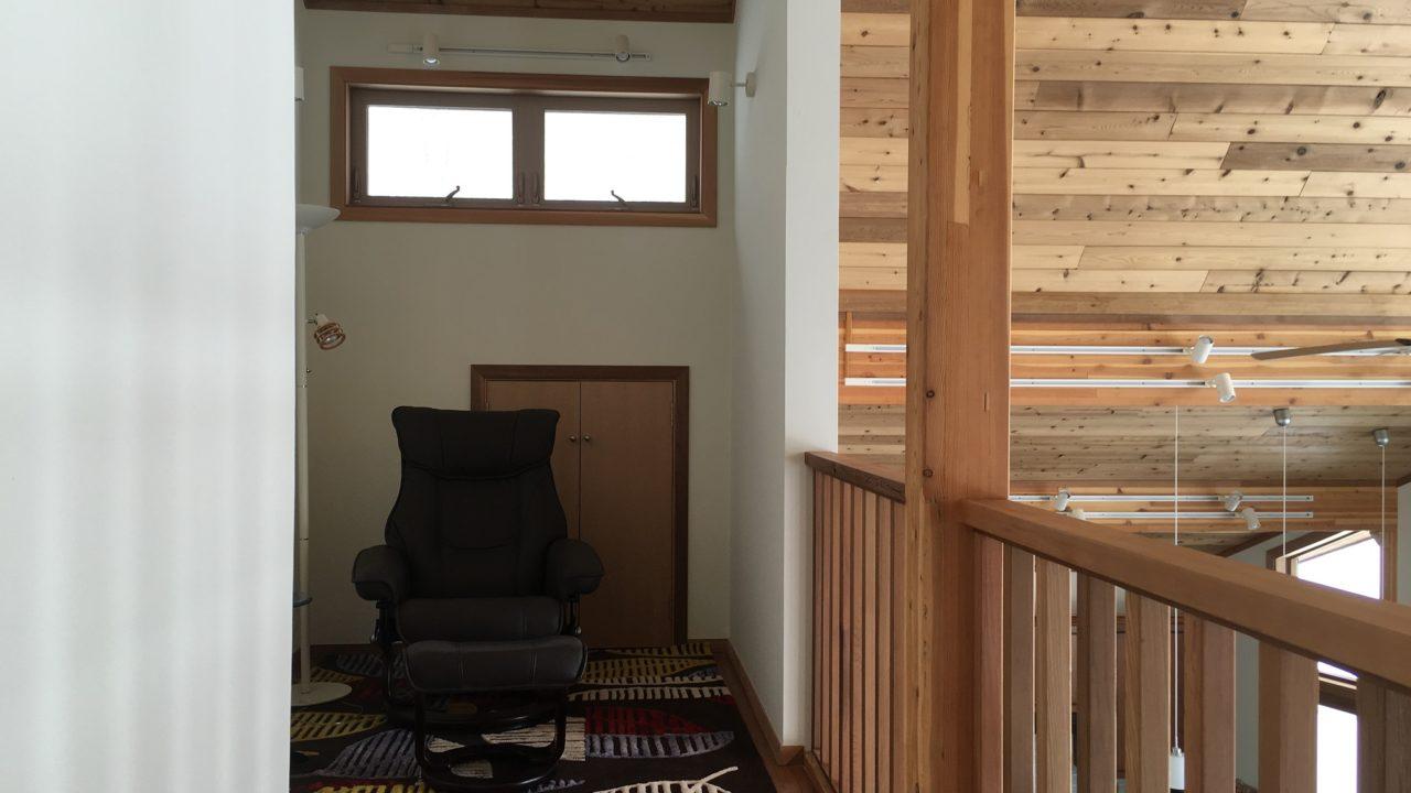 Niseko Realty Harmony House Real Estate Upstairs Study