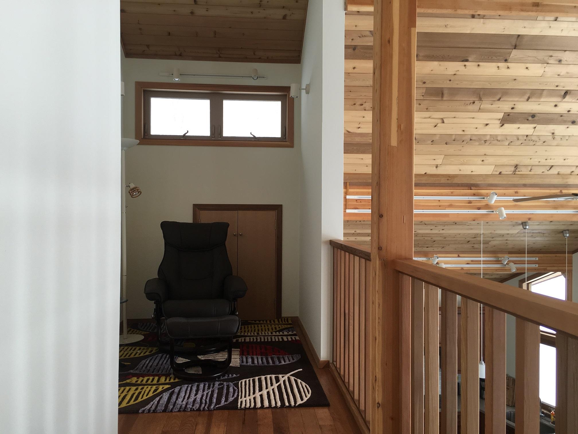 ... Niseko Realty Harmony House Real Estate Upstairs Study ...
