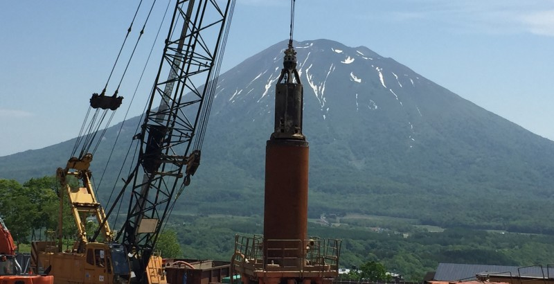 Skye Niseko - Luxury Niseko Resort Hotel Construction