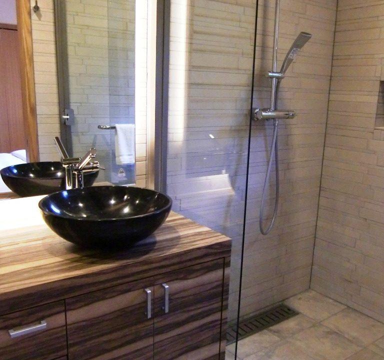 Creekside Master Bathroom Niseko Realty