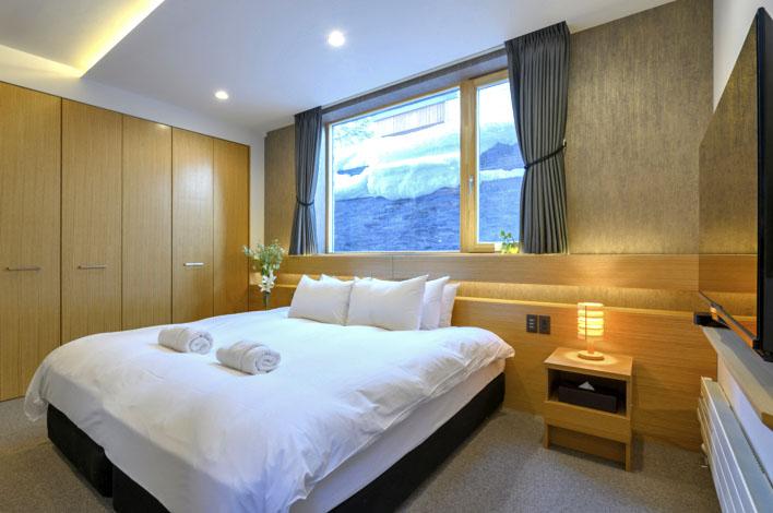 Hachiko Villa bedroom 1