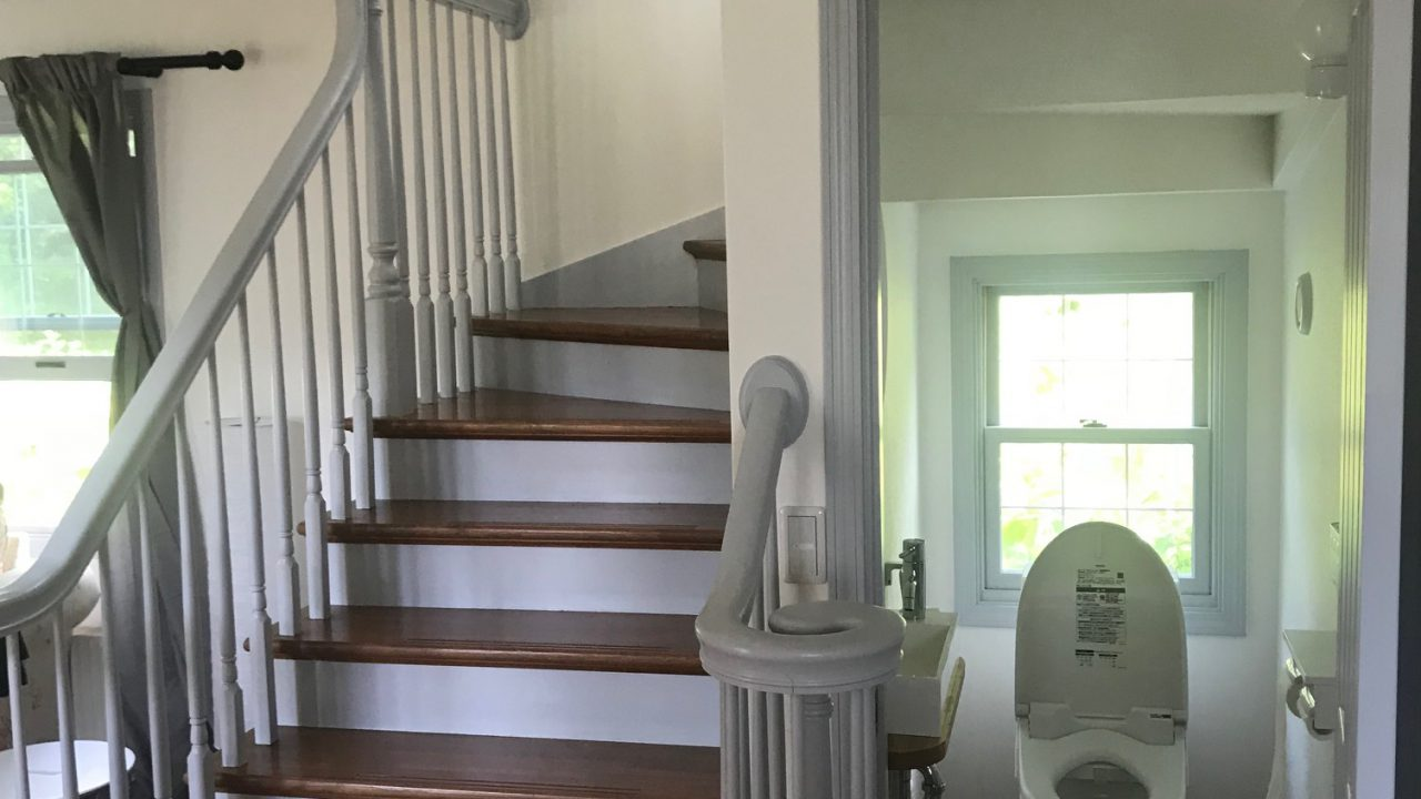 Niseko Realty Annupuri House Staircase