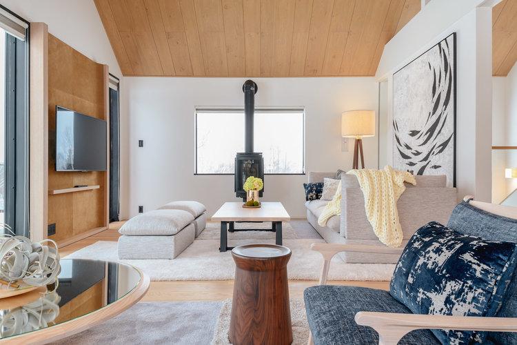 Niseko Realty Koa Villa 5 Living 2