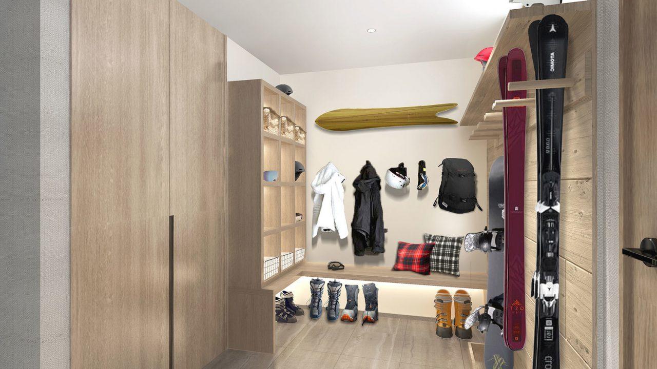 Niseko Realty Koa Villa 5 Ski Room