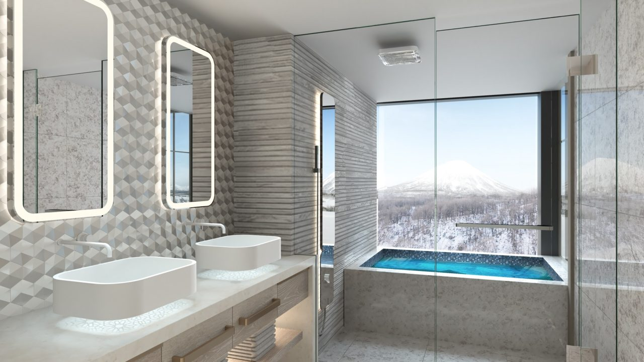New World Le Plume by Rosewood Interior Bathroom