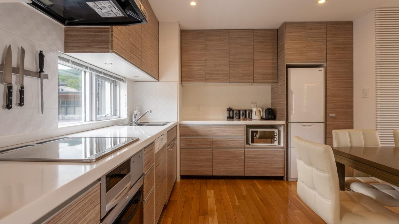Kisetsukan Niseko Property Niseko Realty Kitchen